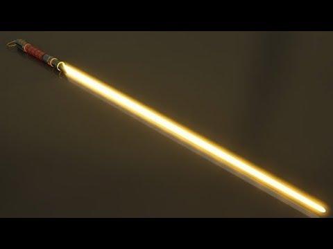 How to Make a LED String Blade Custom Lightsaber