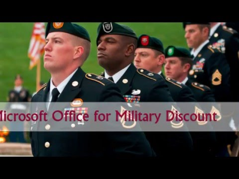 Microsoft Office for Military Discount