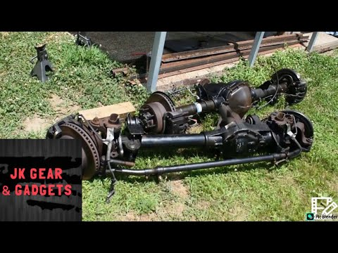 Superduty Axles for my Jeep!