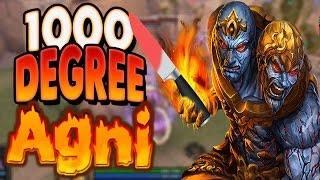 Smite: 1000 Degree Agni Vs. Randos (Agni Damage Build) - AUTO THEM DOWN!