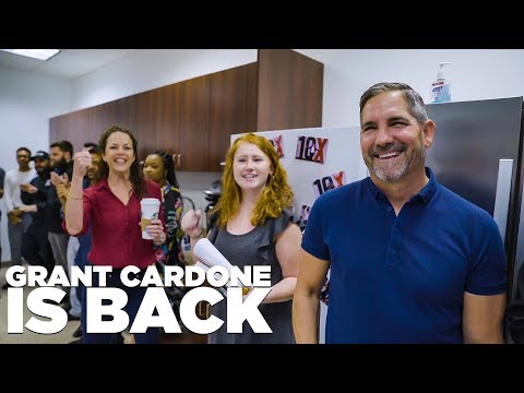 Grant Cardone Makes His Return to the States