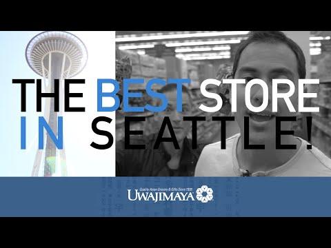 My Favorite Seattle Grocery Store... Uwajimaya (Japanese Food)- BenjiManTV