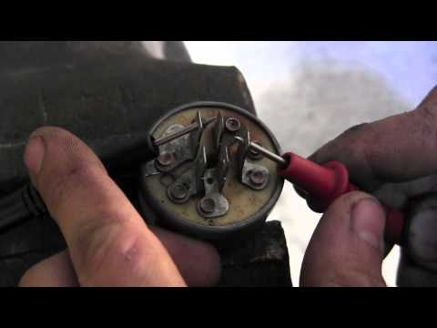 How to test lawn mower key switch