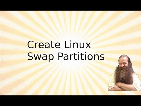 Creating Linux Swap Partitions