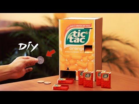 How to Make a tic tac Dispensing Machine