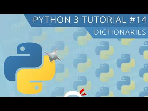 Python 3 Tutorial for Beginners #14 - Dictionaries