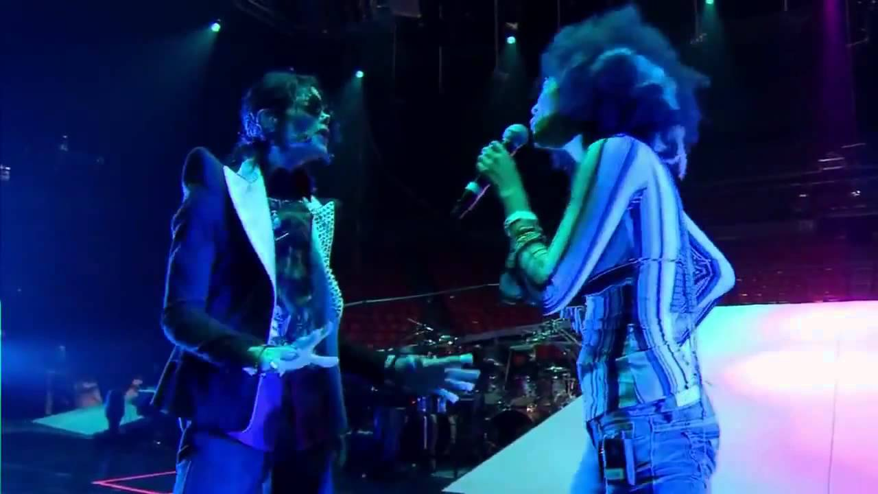 "Michael Jackson & Judith Hill - I Just Can't Stop Loving You (THIS IS IT VERSION)""rehearsal"""