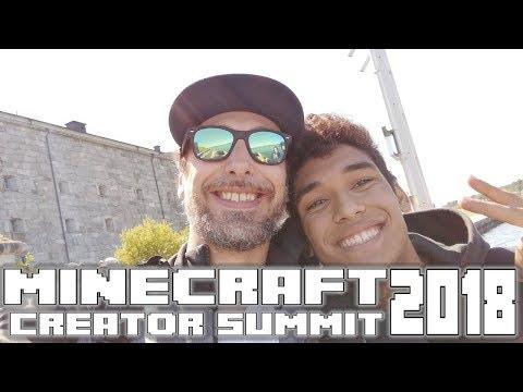 Minecraft Creator Summit 2018 with Docm77