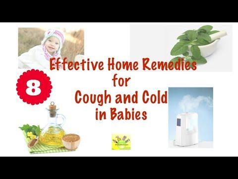 शिशु के लिए सर्दी खांसी के घरेलु उपचार | Cough and Cold Home Remedies for Babies