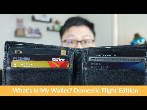 What's in My Wallet? Domestic Flights Edition (for LA Trip!)