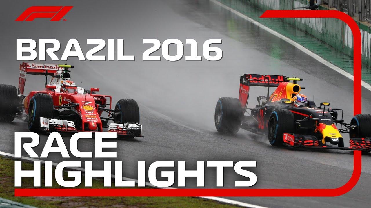 2016 Brazilian Grand Prix: Race Highlights