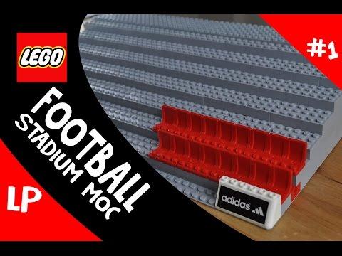 Football Stadium LEGO MOC Update #1