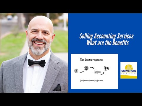 Selling Accounting Services - What are the Benefits
