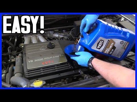 How to Change Oil and Filter Toyota Highlander V6 2001-2007