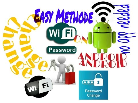 How to change wifi password on android | Easy method , no app needed |