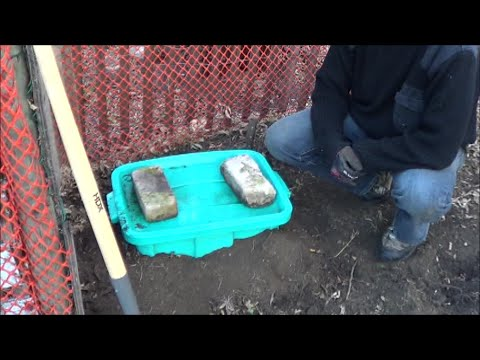 Rubbermaid Poop Chute or Dealing With Dog Waste