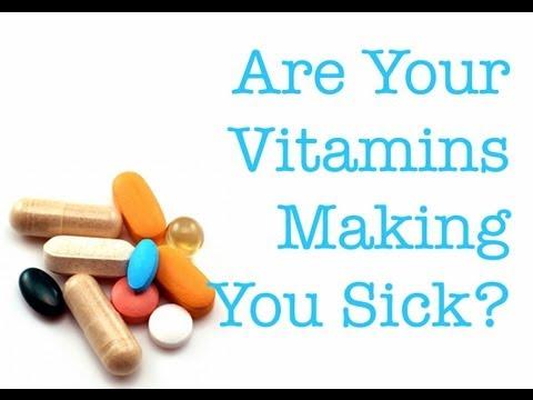 Are Vitamins Making You Sick? (Especially Prenatal Pills)