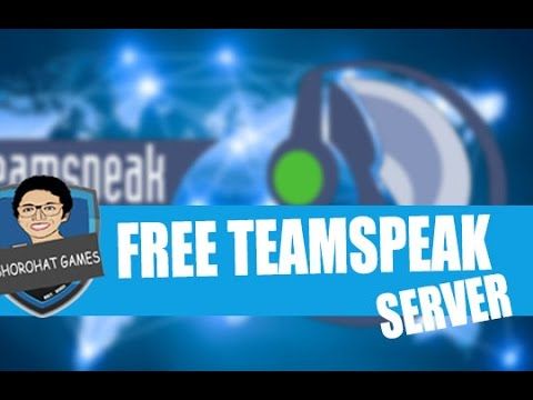 NEW 2016: Get a free teamspeak server ❤ 2016 ❤