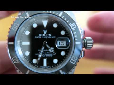 How to Wind and Set your Rolex Submariner 2017