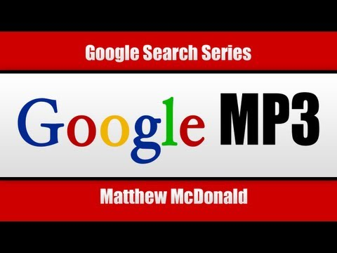 How To Search MP3 With Google