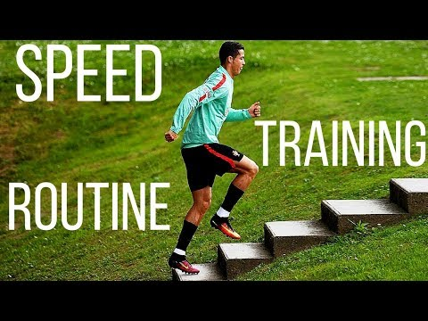 Speed Training For Soccer Players - Develop Fast Feet