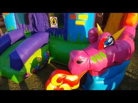 Dragon jumper fun. A jumper for small kids.