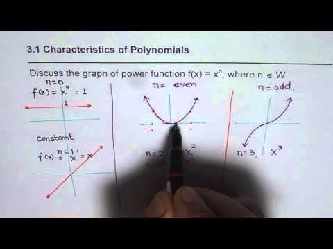 Understand Power Function as Basic Unit of Polynomial