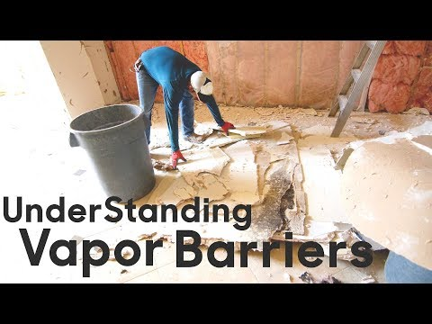 Vapor Barriers: Need one or not?