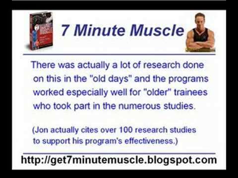 7 Minute Muscle Review Gain Muscle Fast