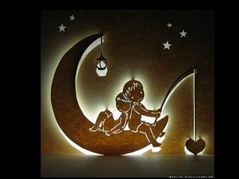 Moon Night - Valentine Love Pop Up Card Tutorial