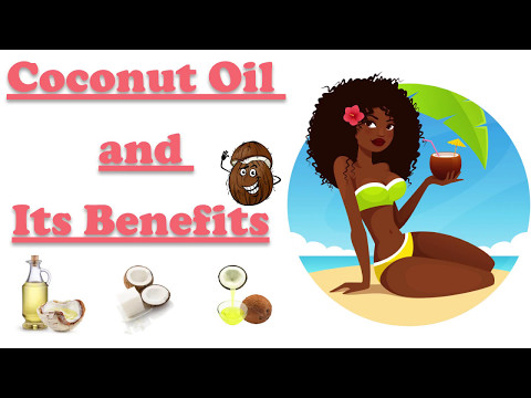 Coconut oil for hair growth | weight loss | and other benefits