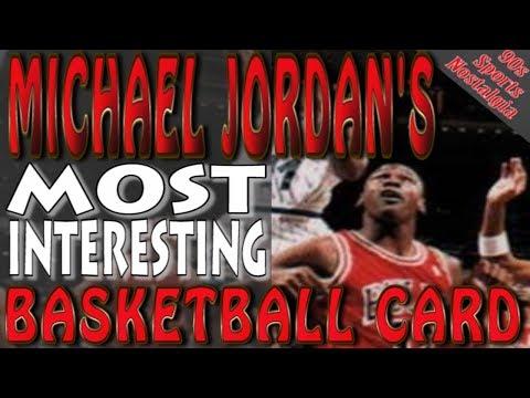 Michael Jordan's Most Interesting Basketball Card