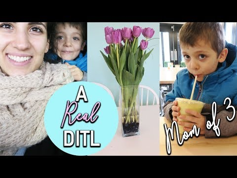 A REAL DAY IN THE LIFE WITH 3 KIDS | SAHM of 3