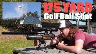 """175 Yard Exploding Golf Ball in 4 Shots     Airgun Depot """"Long Rangers"""""""