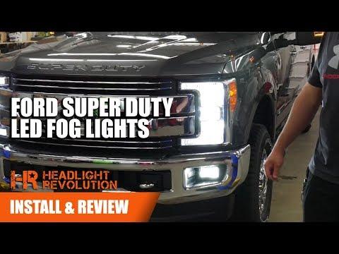 Installing 2017+ Ford Super Duty LED Fog Light Bulbs | Headlight Revolution