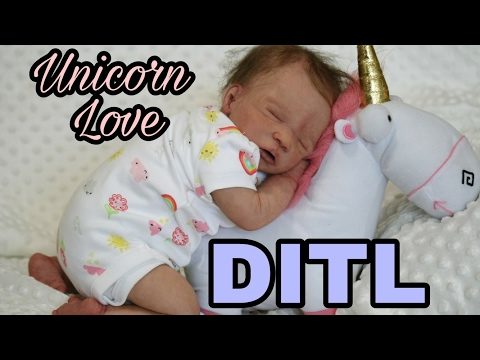 Day In The Life Of A Newborn - Silicone Baby Doll Looks So Real - nlovewithreborns2011
