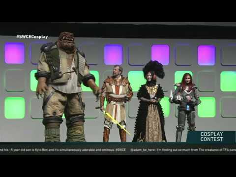 Star Wars Celebration Europe 2016 Costume Contest- Star Wars Show LIVE!