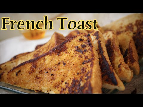 Eggless French Toast - Simple and Yummy