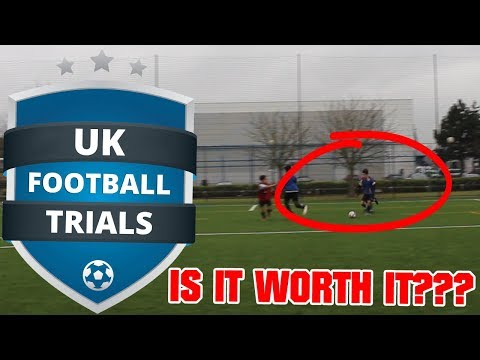 I WENT TO UK FOOTBALL TRIALS - WAS IT WORTH IT?? HOW TO APPROACH AND PREPARE FOR TRIALS!