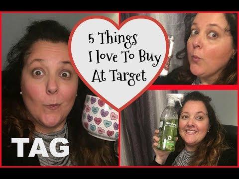 5 THINGS I BUY AT TARGET TAG