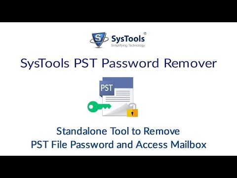 SysTools PST Password Recovery