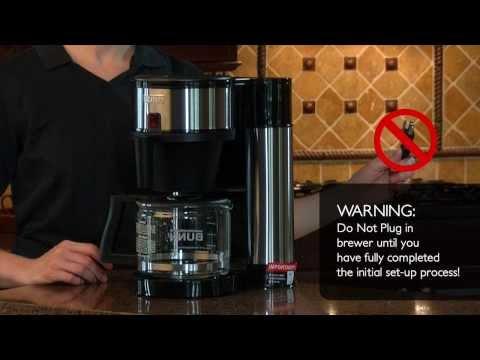 How to set-up BUNN® Velocity Brew®