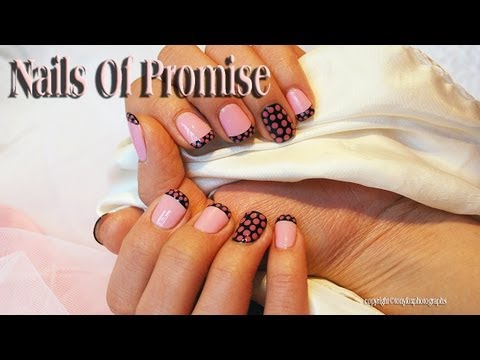 Easy Nail Tutorial. In The Pink. Nails Of Promise