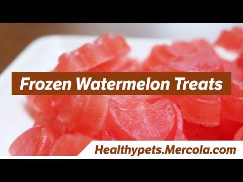 Frozen Watermelon Treats