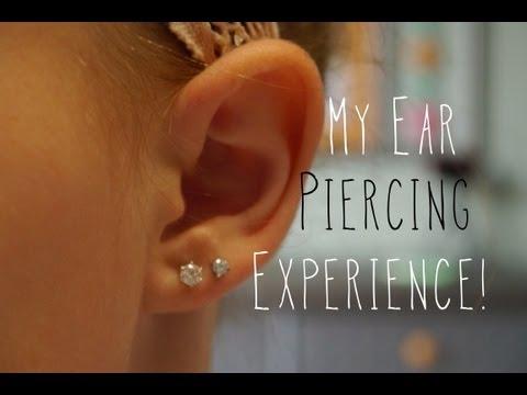 My Ear Piercing Experience!