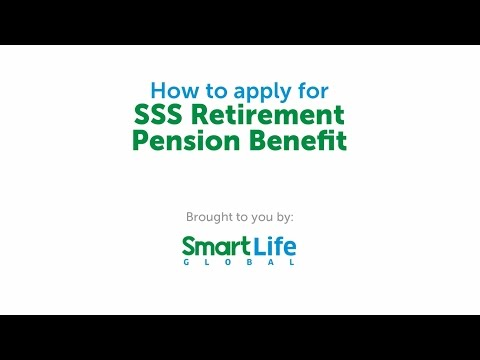 How to Apply for the SSS Retirement Pension Benefit