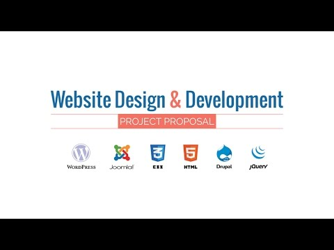 Web Design & Development Project Proposal Presentation HD Movie