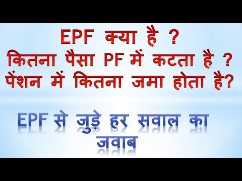 EPF Ka Contribution Calculation Kaise Kare | EPFO  कॉन्ट्रिब्यूशन कैसे चेक करे  ( Hindi )