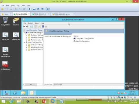 21 A  Group policy Intro & default policies