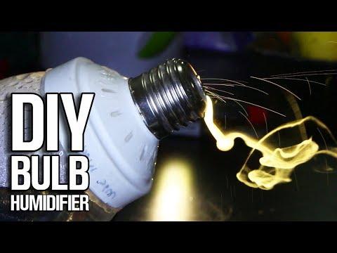 Simple DIY Bulb Humidifier